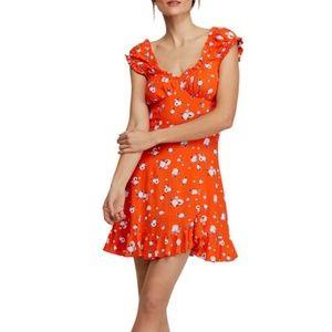 Free People NWT Mini Dress Boho Chic!